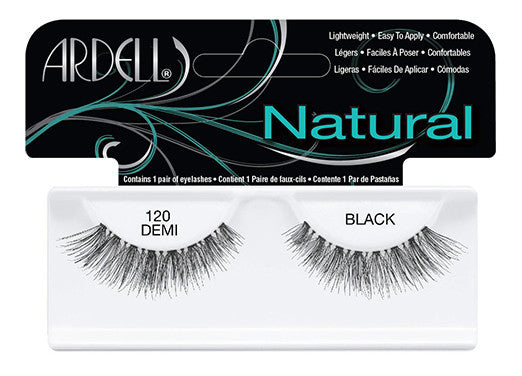 Ardell lashes Natural 120 Demi Black (1 Pair)