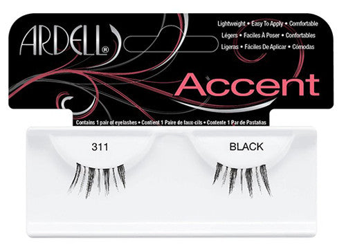 Ardell lashes Accent 311 Black (1 Pair)