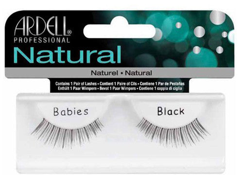 Ardell lashes Natural Black (1 Pair) - Gina Beauté