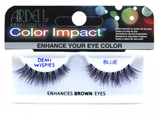 Ardell lashes Color Impact Demi Wispies Blue (1 Pair)