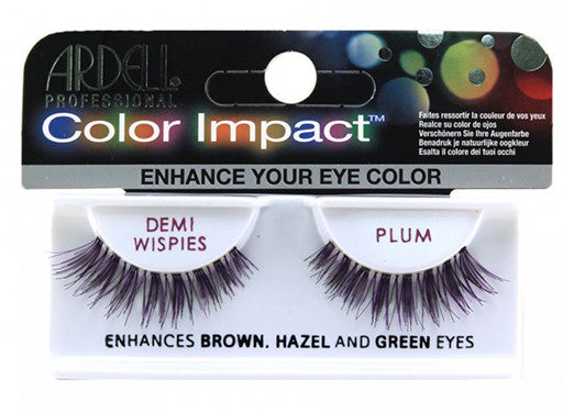 Ardell lashes Color Impact Demi Wispies Plum (1 Pair)