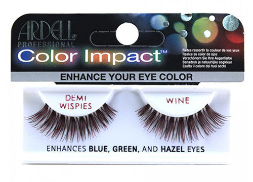Ardell lashes Color Impact Demi Wispies Wine (1 Pair)