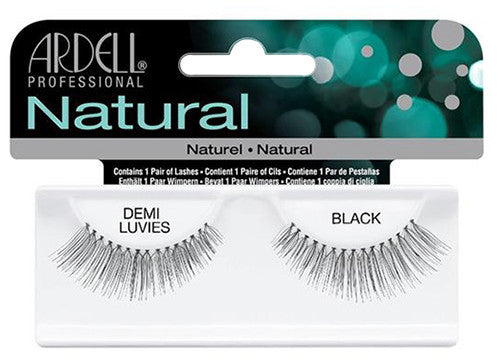 Ardell lashes Natural Demi Luvies Black (1 Pair)