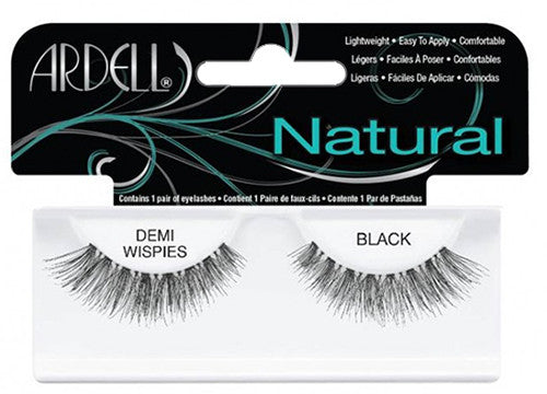 Ardell lashes Natural Demi wispies Black (1 Pair) - Gina Beauté