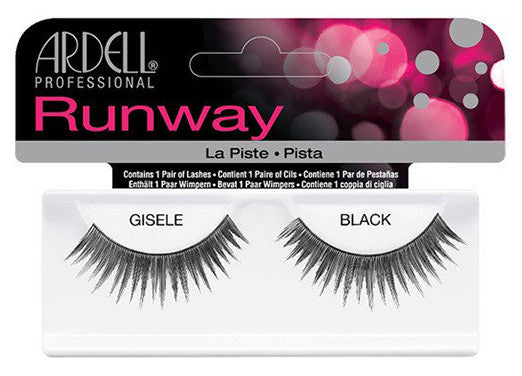 Ardell Lashes Runway Gisele Black (1 Pair) - Gina Beauté