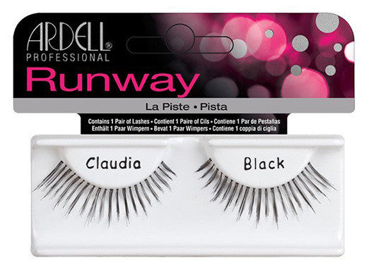 Ardell Lashes Runway Claudia Black (1 Pair) - Gina Beauté