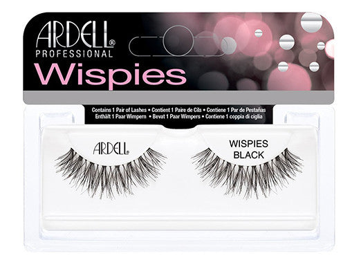Ardell Lashes Wispies Black (1 Pair) - Gina Beauté