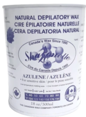 Sharonelle Natural Depilatory Wax Azulene 18oz