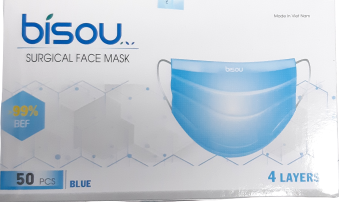 Bisou Surgical Facemask 4 Layer (50pcs)