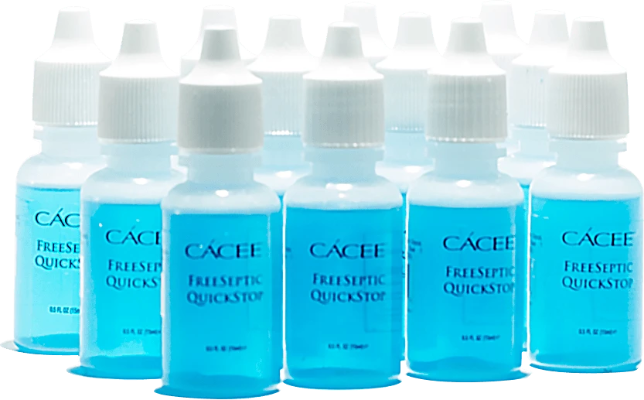 Cacee Freeseptic Quickstop (12 pcs) - Gina Beauté