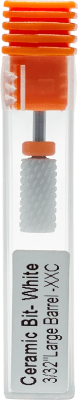 "Ceramic Bit- White 3/32"" Large Barrel XXC"