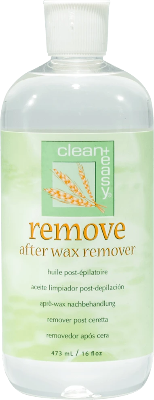 Clean+Easy After Wax Remover 16 oz - Gina Beauté