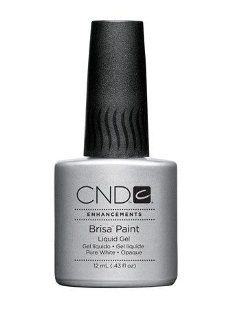 CND Brisa™ Paint Liquid Gel Pure White - Gina Beauté