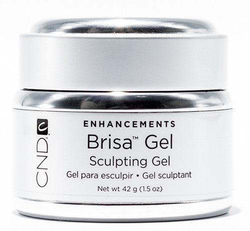 CND Brisa™ Sculpting Gel Pure White Opaque - Gina Beauté