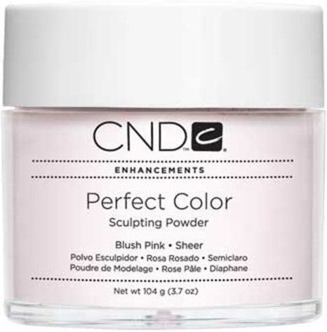 CND Perfect Color Sculpting Powder Blush Pink Sheer 3.7 oz.-104g - Gina Beauté