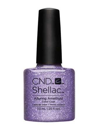 CND Shellac™ Alluring Amethyst Color Coat - Gina Beauté