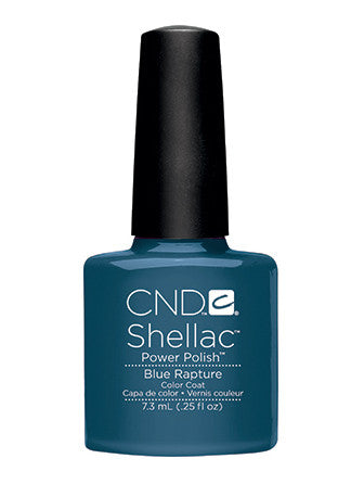 CND Shellac™ Blue Rapture Color Coat - Gina Beauté