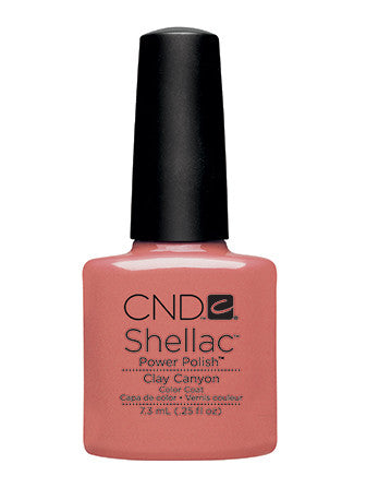 CND Shellac™ Clay Canyon Color Coat - Gina Beauté