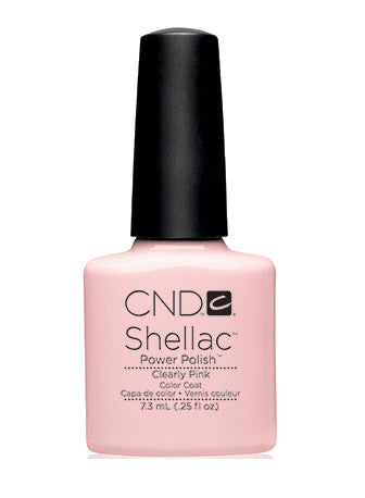 CND Shellac™ Clearly Pink Color Coat - Gina Beauté