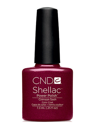 CND Shellac™ Crimson Sash Color Coat