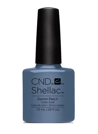 CND Shellac™ Denim Patch Color Coat - Gina Beauté