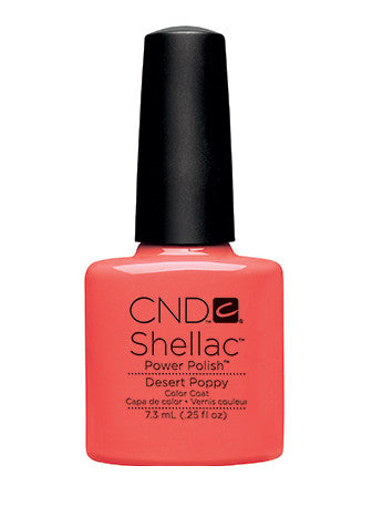 CND Shellac™ Desert Poppy Color Coat - Gina Beauté