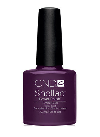 CND Shellac™ Grape Gum Color Coat