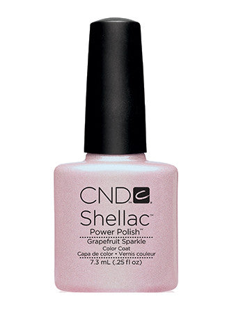 CND Shellac™ Grapefruit Sparkle Color Coat