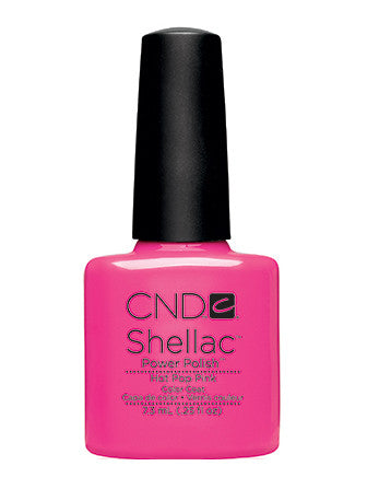 CND Shellac™ Hot Pop Pink Color Coat