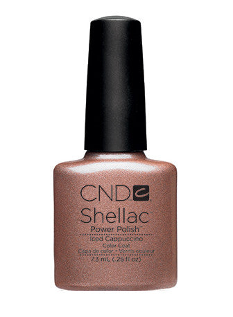 CND Shellac™ Iced Cappuccino Color Coat - Gina Beauté