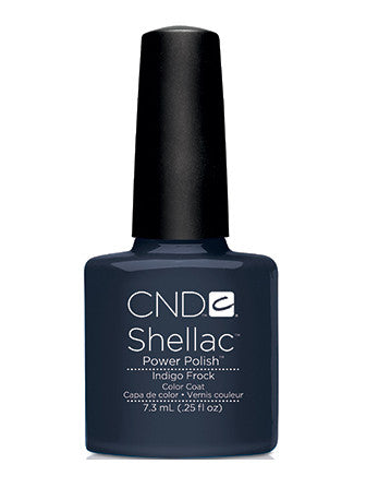 CND Shellac™ Indigo Frock Color Coat - Gina Beauté