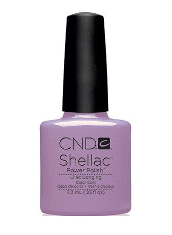 CND Shellac™ Lilac Longing Color Coat - Gina Beauté