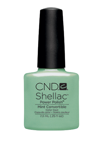 CND Shellac™ Mint Convertible Color Coat - Gina Beauté