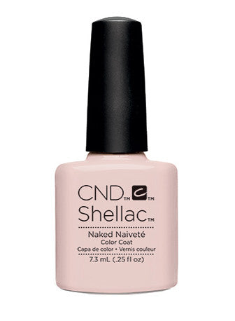 CND Shellac™ Naked Naiveté Color Coat - Gina Beauté