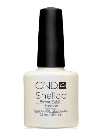 CND Shellac™ Negligee Color Coat - Gina Beauté