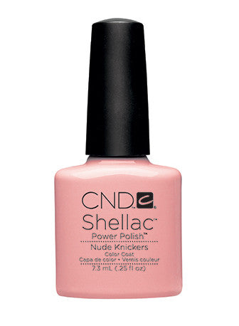 CND Shellac™ Nude Kickers Color Coat - Gina Beauté