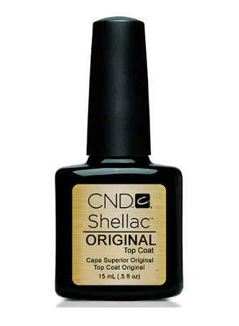 CND Shellac™ Original Top Coat - Gina Beauté