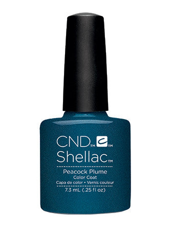 CND Shellac™ Peacock Plume Color Coat - Gina Beauté