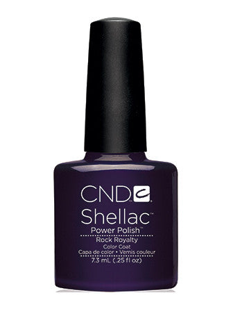 CND Shellac™ Rock Royalty Color Coat - Gina Beauté
