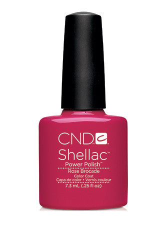 CND Shellac™ Rose Brocade Color Coat - Gina Beauté