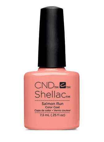 CND Shellac™ Salmon Run Color Coat - Gina Beauté
