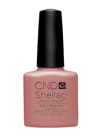 CND Shellac™ Satin Pajamas Color Coat - Gina Beauté