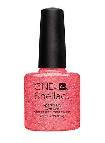 CND Shellac™ Sparks Fly Color Coat - Gina Beauté