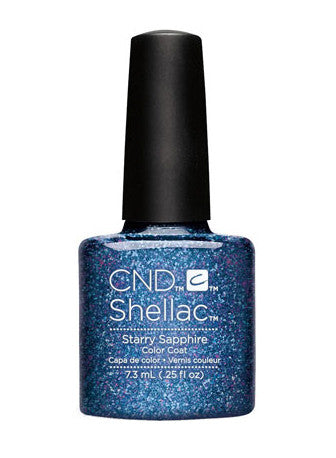 CND Shellac™ Starry Sapphire Color Coat - Gina Beauté