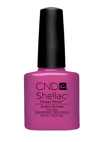 CND Shellac™ Sultry Sunset Color Coat - Gina Beauté