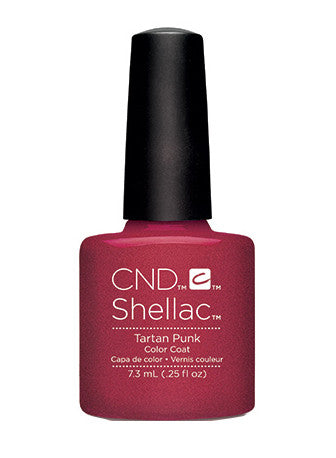 CND Shellac™ Tartan Punk Color Coat - Gina Beauté