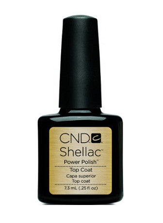 CND Shellac™ Power Polish Top Coat - Gina Beauté