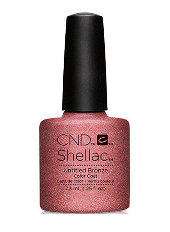 CND Shellac™ Untitled Bronze Color Coat - Gina Beauté