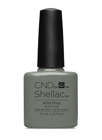 CND Shellac™ Wild Moss Color Coat - Gina Beauté