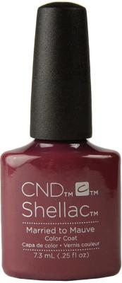 CND Shellac™ Married to Mauve Color Coat - Gina Beauté